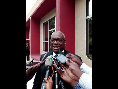 CI : Koné Mamadou, President du Conseil constitutionnel parle de l'article 135 de la Constitution