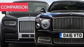 New Rolls-Royce Phantom Vs Bentley Mulsanne ► Full Comparison [ Exterior - Interior - Specs ]