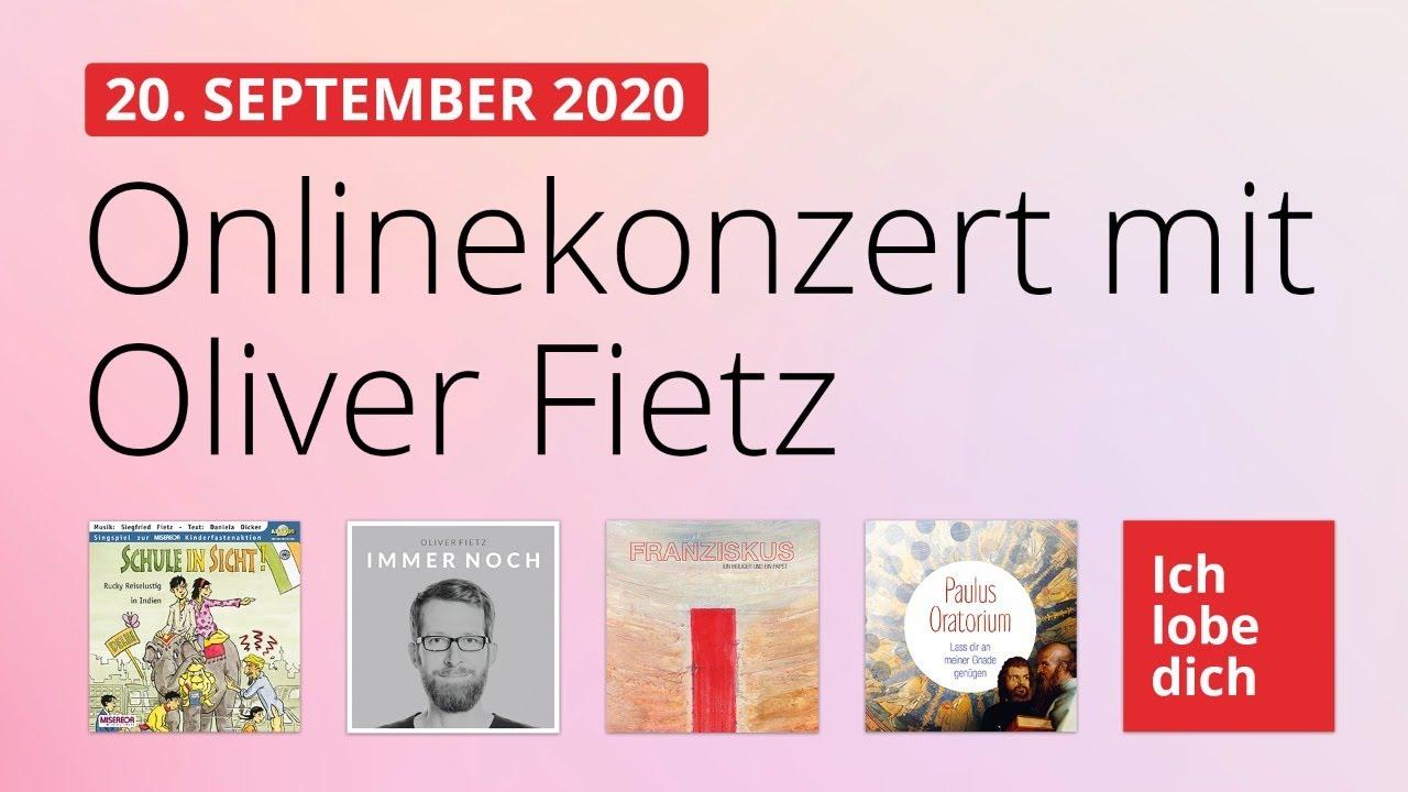 Online-Konzert am 20.09.2020
