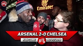 Arsenal 2-0 Chelsea | They Dropped A Clanger Playing Hazard As A False 9!!