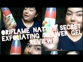 Oriflame nature secrets Exfoliating shower gel || review!