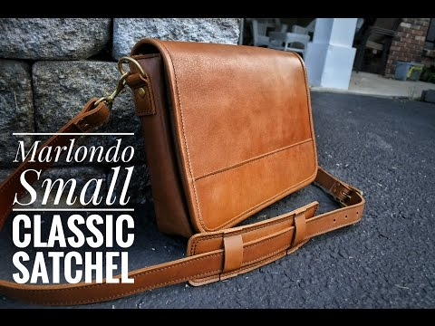Chatty Unboxing of the Marlondo Small Classic Satchel in Tobacco