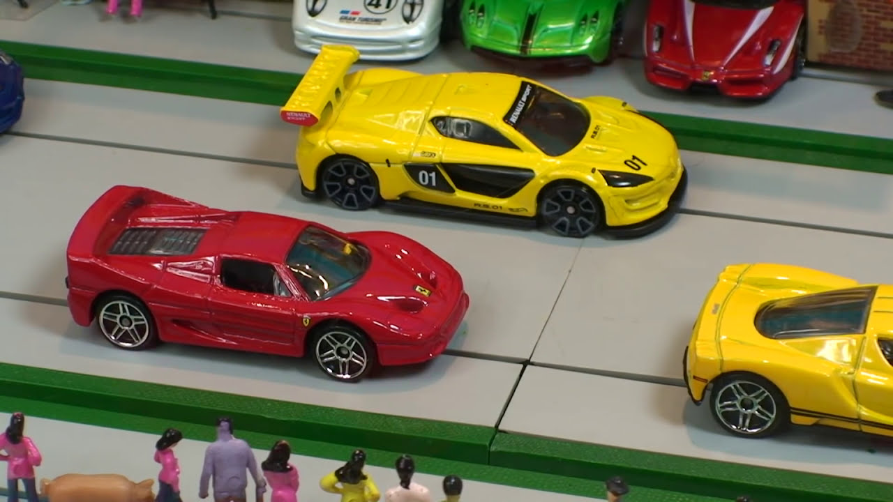 Race Hot Wheels Supercar Collection Diecast Toy Cars Toy Car
