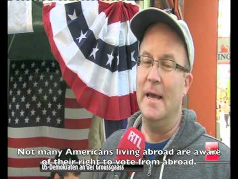 The Democrats Abroad Road Trip on Luxembourg TV!