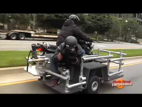 Photo Shoot Impossible moto camera bike segment