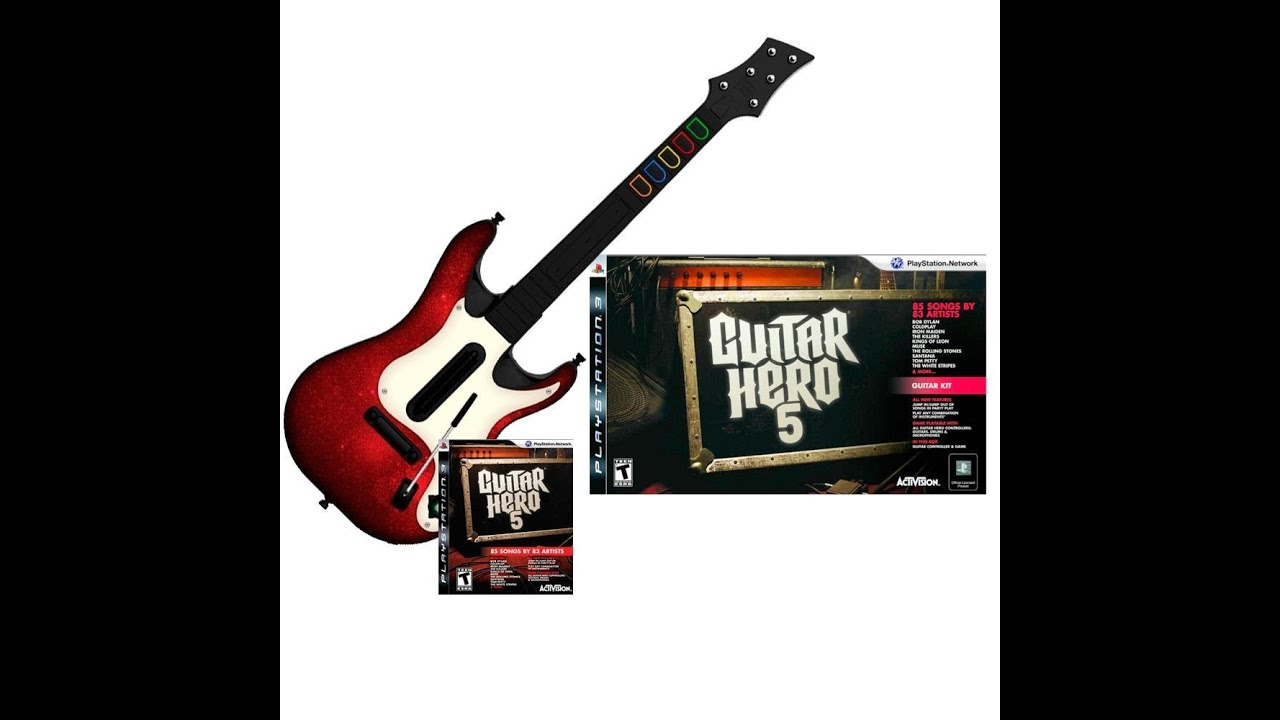 playstation 3 guitar hero 5 unboxing youtube. Black Bedroom Furniture Sets. Home Design Ideas