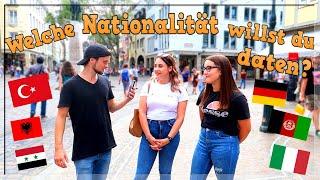 Alle MÄDCHEN stehen auf TÜRKEN? 🇹🇷 😍 | Welche Nationalität würdest du daten? #2 | Straßenumfrage