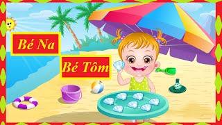 Trò Chơi Cho Bé - Bé Na, Bé Tôm Vui Chơi Trên Bãi Biển - Đồ Chơi Trẻ Em