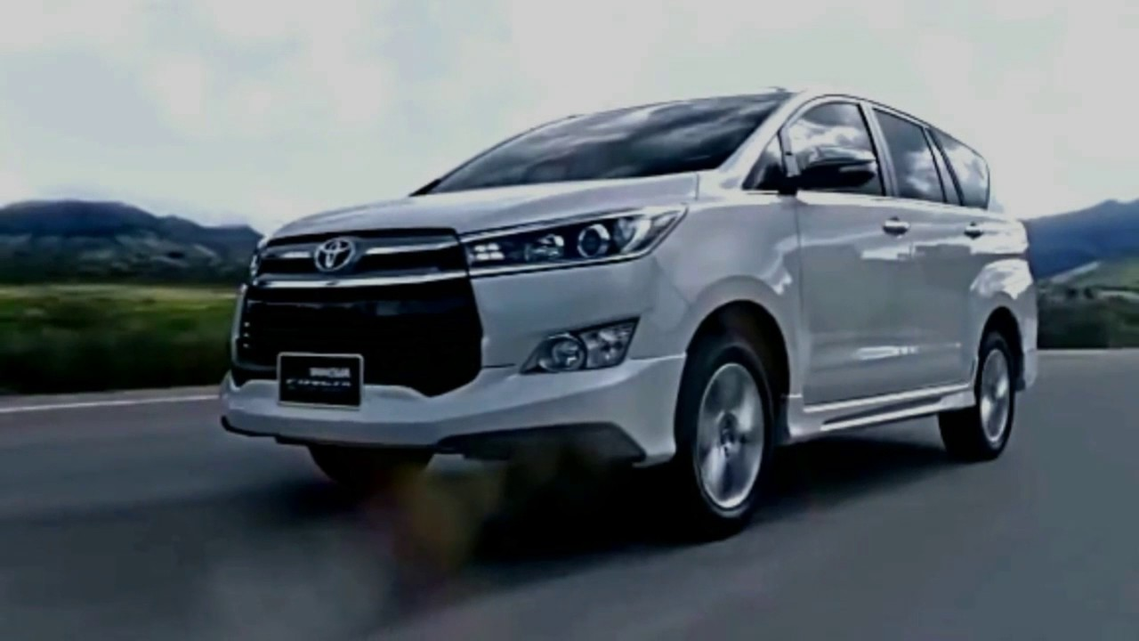 2018 Toyota Innova Crysta Compact Mpv Facelift Youtube