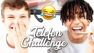 EXTREM LUSTIGE TELEFON CHALLENGE 😂☎️