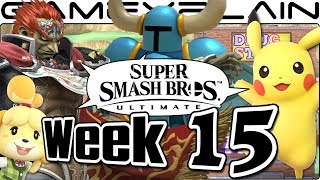 Smash Bros Ultimate Update: Pikachu, Ganondorf, Onett, Animal Crossing Music, & New Leak?! - Week 15