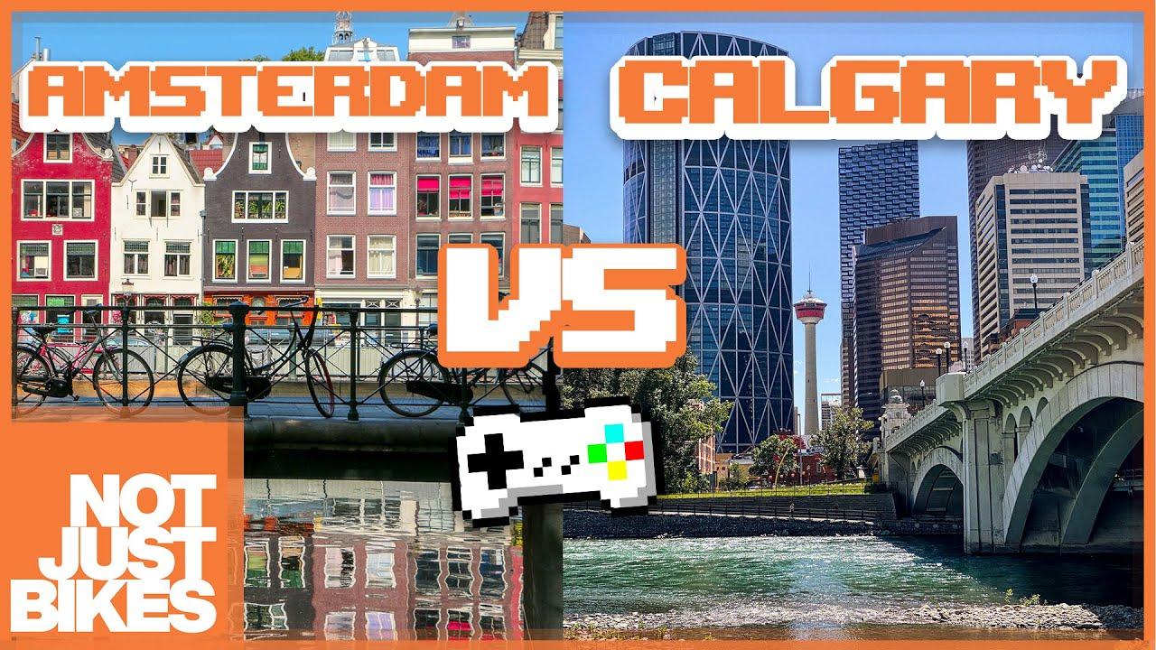 Safe Cycling Showdown - Good vs. Bad City Design - Plus 1 Minus 2