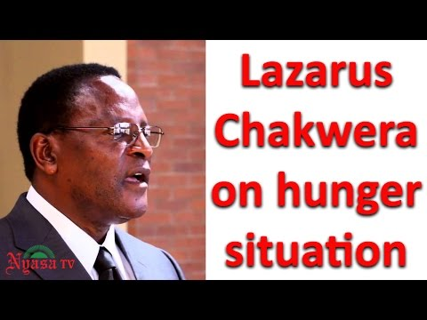 Lazarus Chakwera on hunger situation | NyasaTV