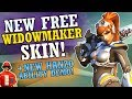 New Free Widowmaker Skin! & Hanzo New Ability Concept Demo! (Overwatch News)