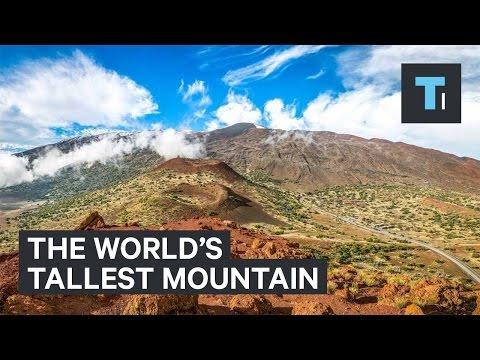 The world's tallest mountain isn't Mount Everest