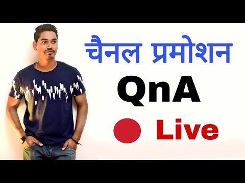 Live QnA & Channel Promotion DK Tech Hindi