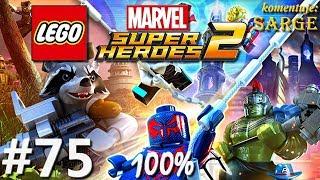 Zagrajmy w LEGO Marvel Super Heroes 2 (100%) odc. 75 - Chyba widziałem kotecka 100%