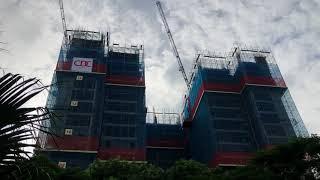 Tiến độ thi công chung cư Athena Complex Hoàng Mai ngày 24-9-2020