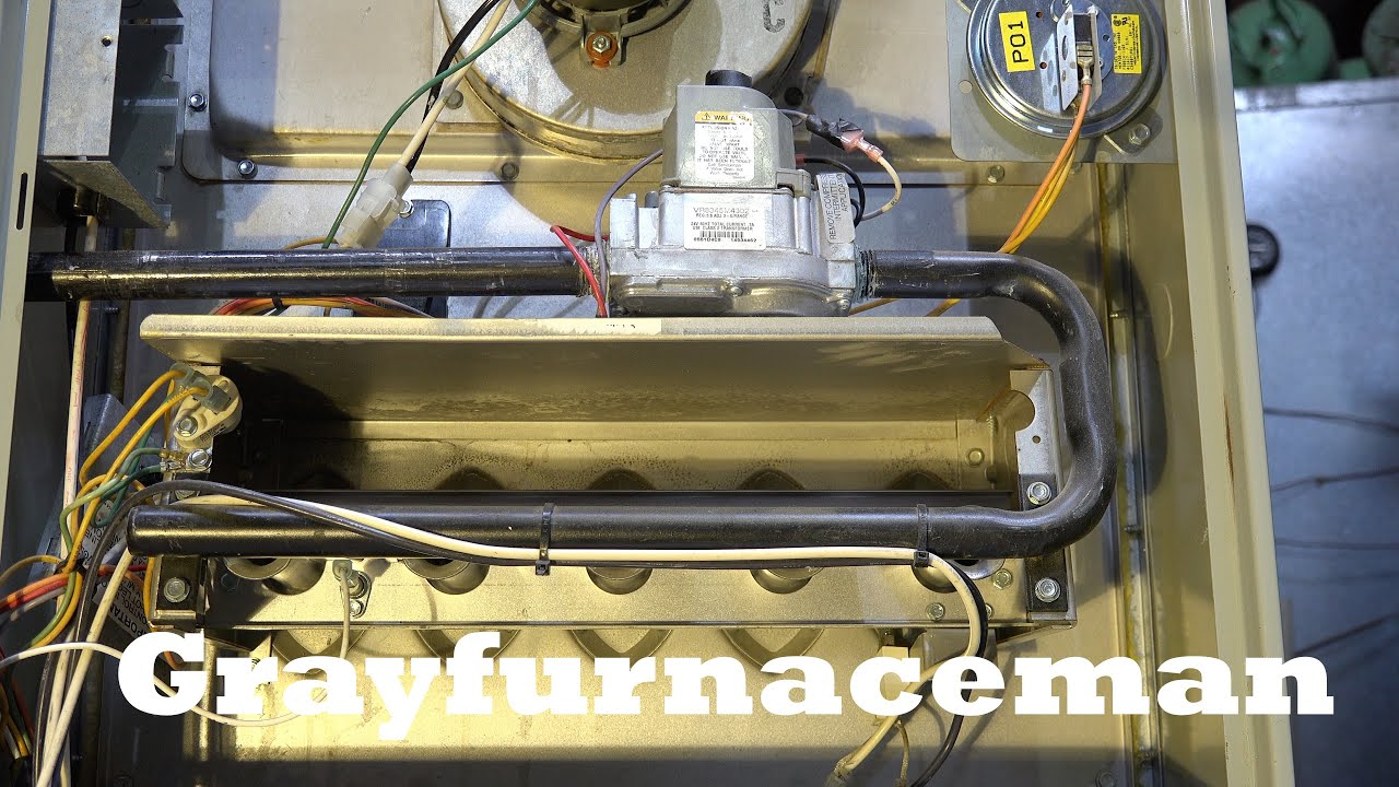 What Happens When The Gas Furnace Rollout Is Bypassed Youtube Snyder General Wiring Diagram