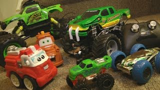 RC MONSTER TRUCK MADNESS! Fire Rescue POLICE CHASE TOYs iMagination