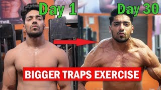 BIGGER TRAPS WORKOUT - Top 3 Exercise for Traps | Rohit Khatri Fitness