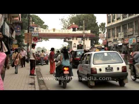 Local market of Kathmandu at New Road Gate, Nepal