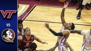 Virginia Tech vs. Florida State Men s Basketball Highlights (2016-17)
