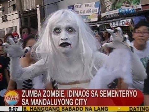 UB: Zumba Zombie, idinaos sa sementeryo sa Mandaluyong City