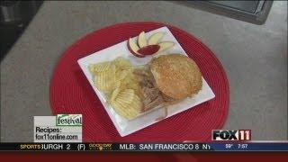 Slow Cooker Apple Bourbon Pulled Pork Sandwiches