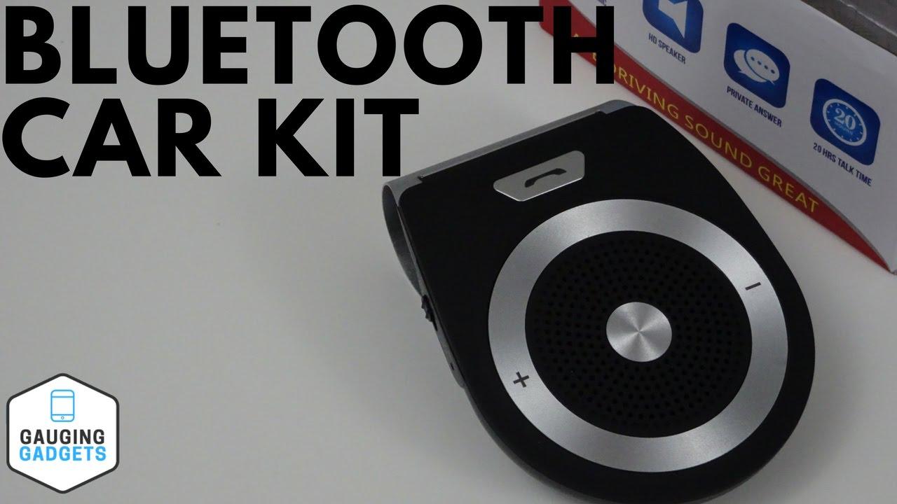 URANT Wireless Bluetooth Car Speaker - Sun Visor Handsfree Kit