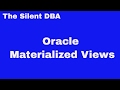 Oracle Materialized Views