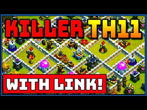 *NEW* BEST TH11 WAR BASE 2019! *WITH LINK* TOWN HALL 11 | CLASH OF CLANS |  ANTI 3 STAR