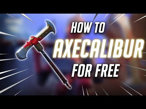 HOW TO GET AXECALIBUR AND PULSE AXE FREE IN FORTNITE (NEW VERSION)