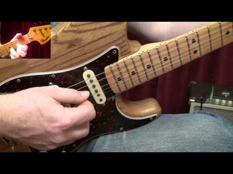 """""""Turn The Page"""" by Bob Seger Guitar Lesson"""