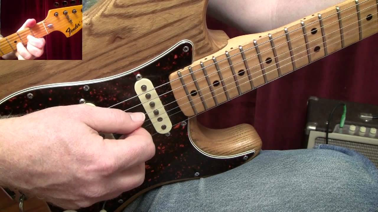 Turn The Page By Bob Seger Guitar Lesson Youtube