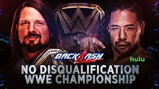 WWE Backlash 2018 Official and Full Match Card
