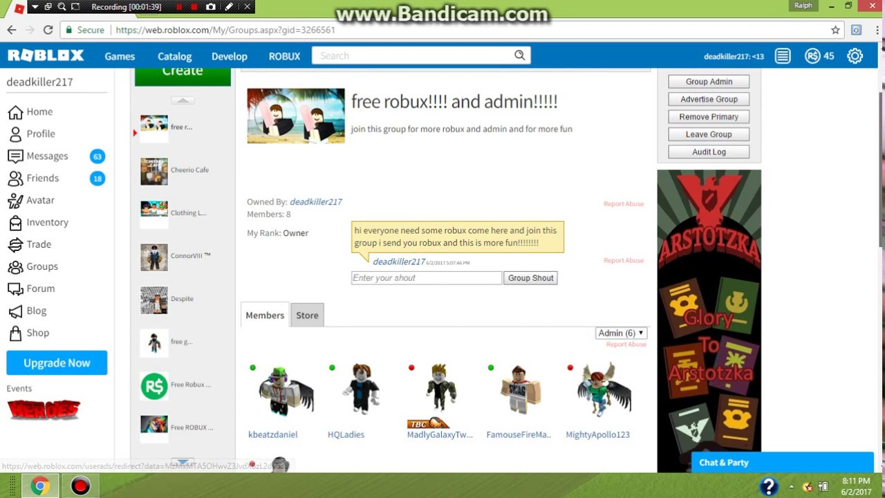 Roblox How To Send Robux And How To Get Free Funds In Your Group -