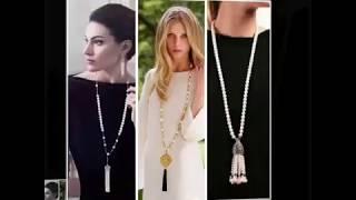 видео Как бывают колье или ожерелья? ― CharmGold магазин: серебряные и золотые украшения