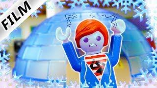 Playmobil Film deutsch | JULIANS IGLU GEGEN HITZE - Hat er Gehirnfrost? | Kinderfilm Familie Vogel