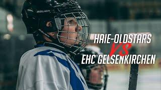 Haie-Oldstars spielen beim EHC Gelsenkirchen für den guten Zweck - Eishockey Film