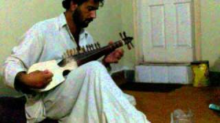 pashto new song qarara rasha in rabab by zaman bunari