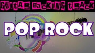 Pop Rock Guitar Backing Track (C) | 140 bpm - MegaBackingTracks