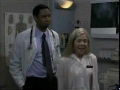 Grace with nurse Pittman