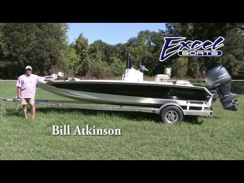 Excel Boats Bay Pro 203 Walk Thru With Bill Atkinson
