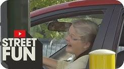 Christos Manazidis am Drive-In-Schalter: Versteht die Kundin Spaß? | Streetfun | ProSieben MAXX