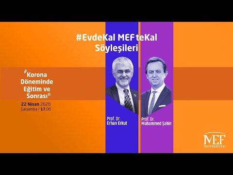 """EvdeKal MEFteKal Söyleşileri - 1 """"Korona Döneminde Eğitim ve Sonrası"""""""