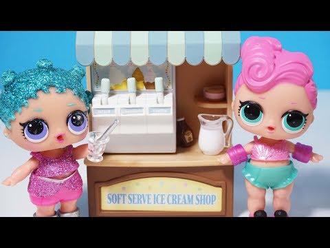 LOL Bebek Hikayeleri LOL Sürpriz Dondurma Makinesi LOL Bebek İzle