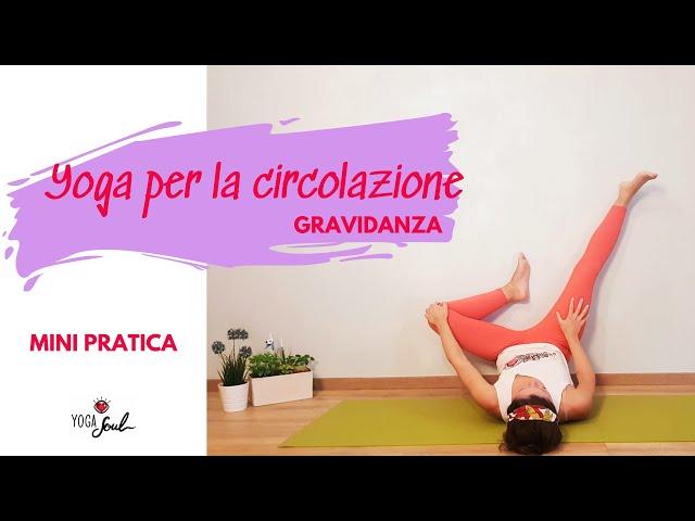 Yoga per la circolazione: gambe pesanti