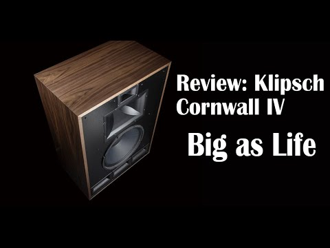 Klipsch Cornwall IV Will Make Your Speakers Sound Small