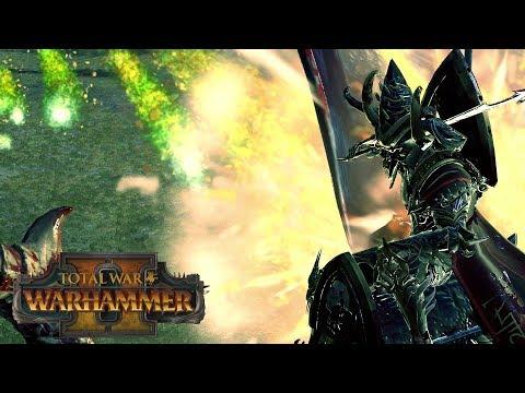 SNEAKY SNIPIN - Greenskins vs Dark Elves // Total War: Warhammer II Online Battle